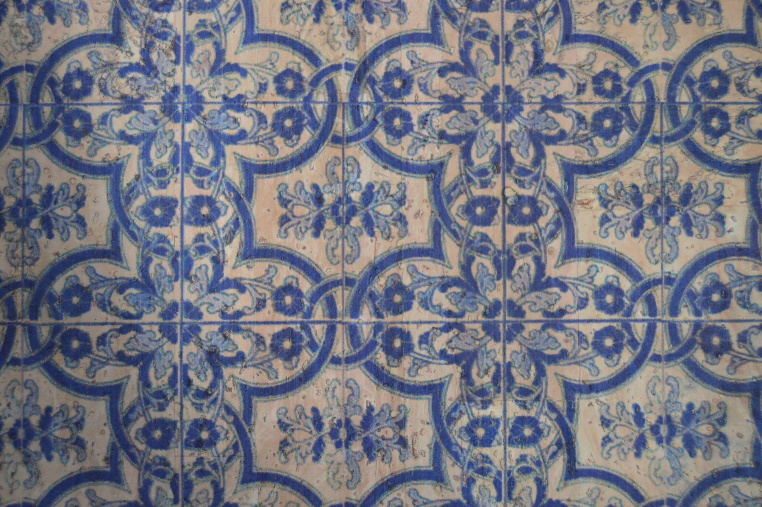 Azulejo Azul